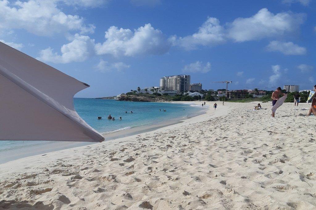 Mullet Bay Beach